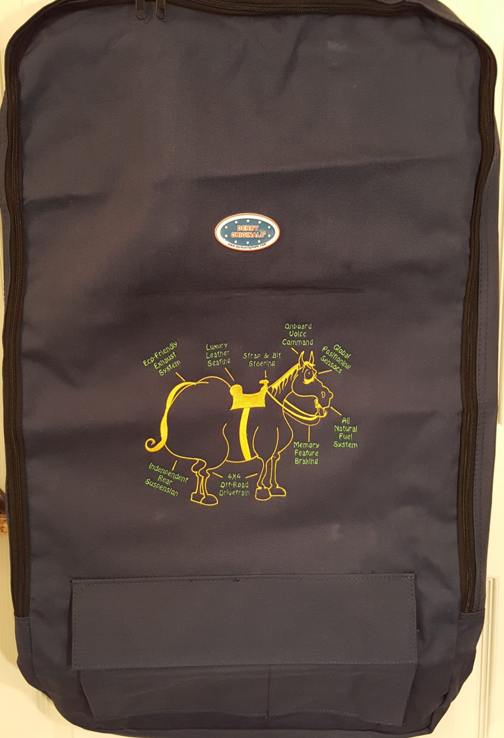 Custom Embroidered Horse Bag