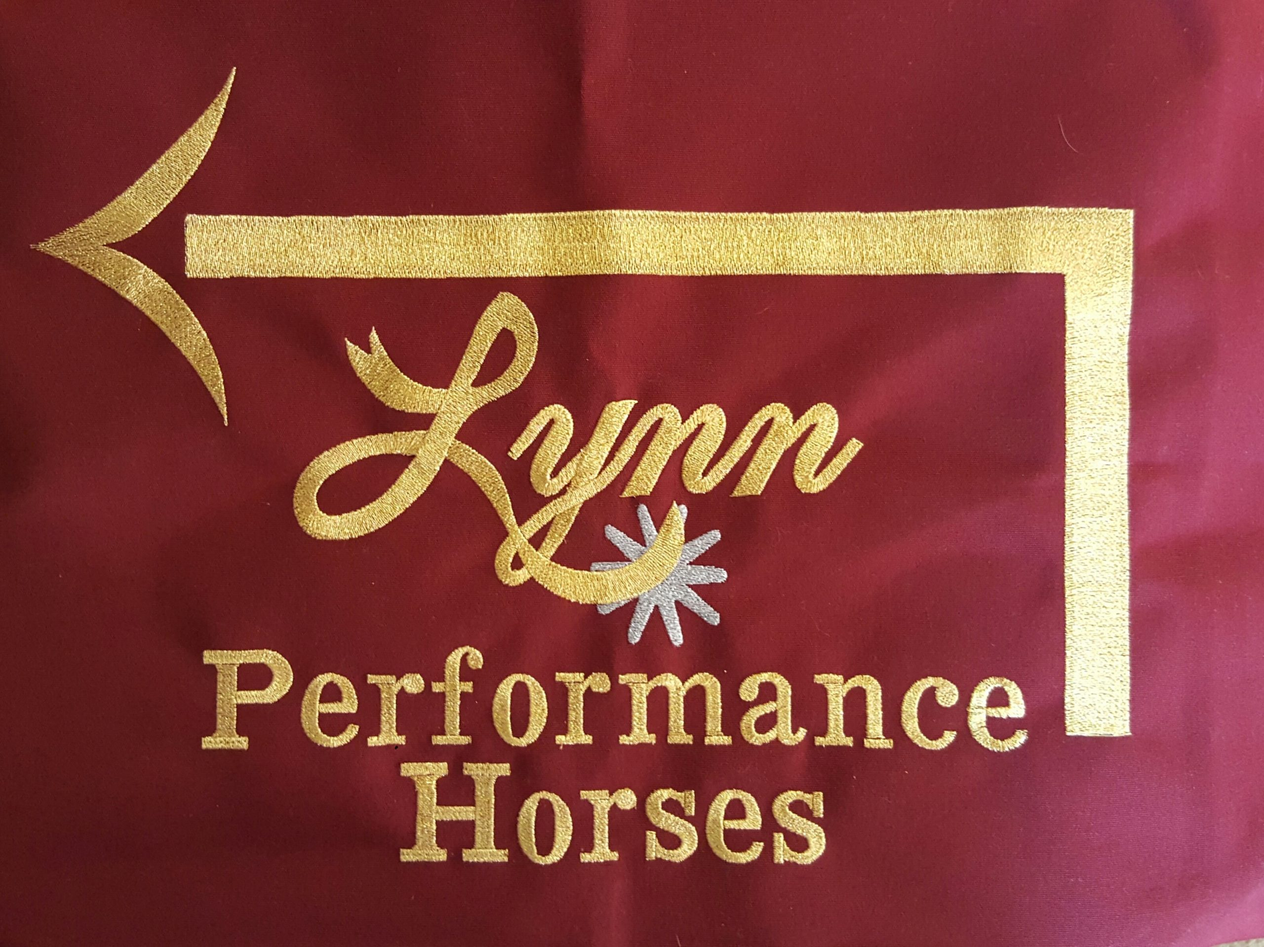 Lynn Performance Horses Embroidery Patch