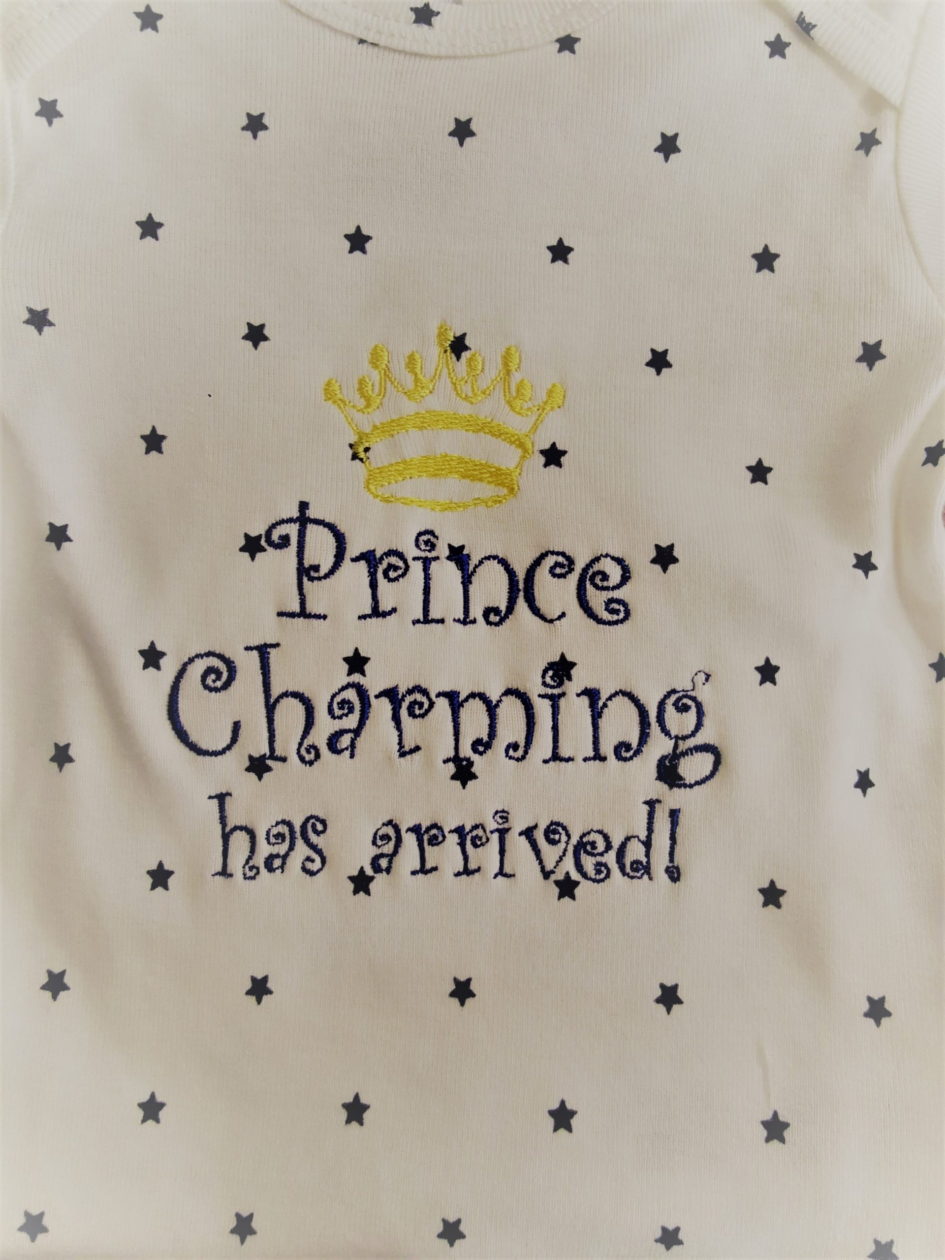 Baby Apparel with Custom Embroidery