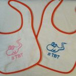 Baby Bibs with Custom Embroidery